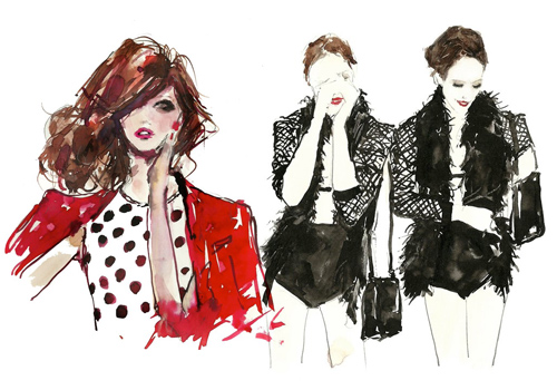 6013704505 607d315507 30 Fashion Illustrators You Can't Miss Part 3