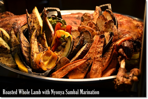 Roasted Whole Lamb with Nyonya Sambal