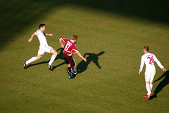 Schattenspiel (btl1.de) Tags: mnchen bayern van stadion schatten frantz bommel fcn contento