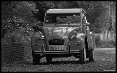 Citron 2cv (Roberto Braam) Tags: classic netherlands car vintage french blackwhite nikon europa d70s citron voiture 2cv vehicle oldtimer groningen ente eend 05rtzb robertobraam