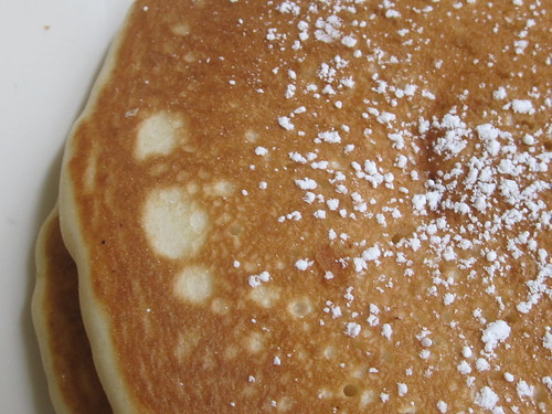 Pancake with Powdered Sugar