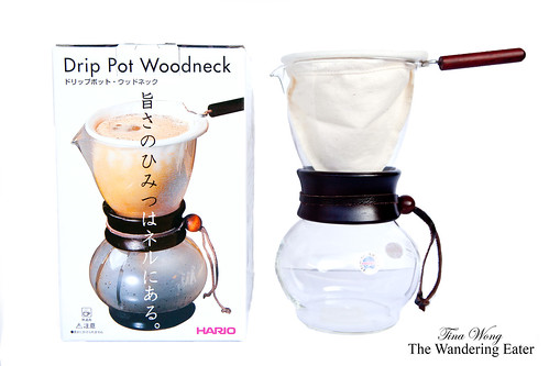 Hario DPW-3 Woodneck Cloth Dripper