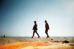 , (Benedetta Falugi) Tags: sea summer film beach analog 22mm eximus benedettafalugi wwwbenedettafalugicom