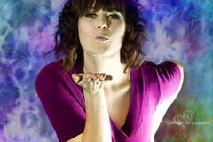 Brit (Sheree Altobelle) Tags: pink portrait woman girl portraits nikon kiss blow offcameraflash d700 nikkor28300mm