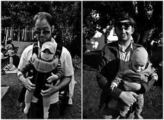 Hangover I & II (cwaersten) Tags: summer people bw baby white black oslo garden nikon babies hangover tsen d90