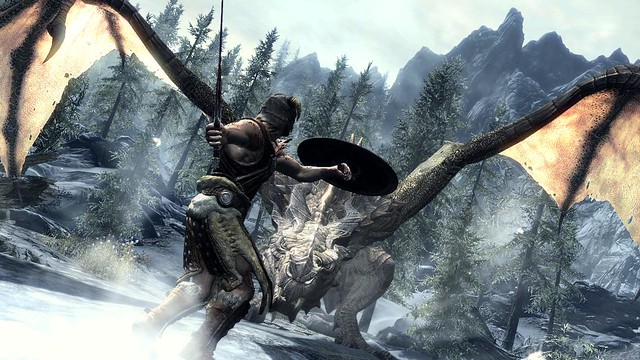 PS3: Dragon Fight - Skyrim