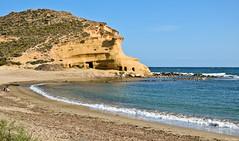 Playa Los Cocedores (mlnilsson) Tags: espaa beach mar spain nikon cove playa murcia cala aguilas cerrada cocedores d3100 sea