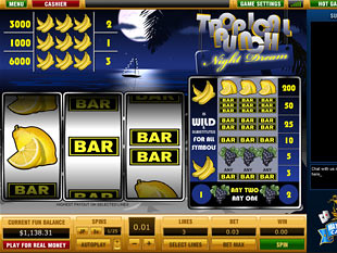 Tropical Punch Night Dream slot game online review