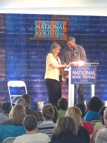 Katherine Paterson and John Rocco