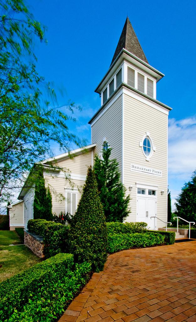 Fake New England Church!