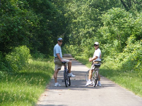 On the Canalway trail