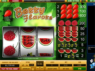 Berry Flavors slot game online review