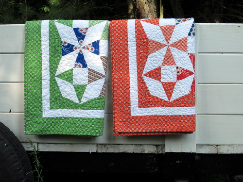 Saltwater Taffy Quilts - folded