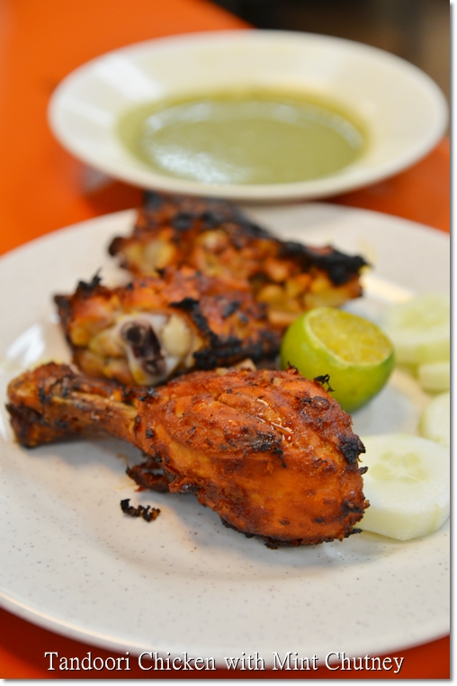 Tandoori Chicken with Mint Chutney