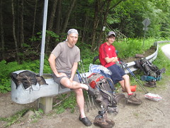 Squidly & McSlappy (Squidly) Tags: camping vermont hiking backpacking vt lt appalachiantrail greenmountains longtrail at