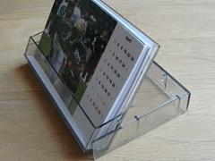 Kassettenhülle zum Kalender umgebaut