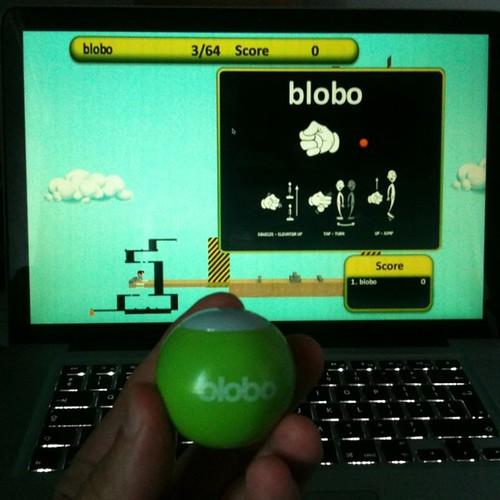 Blobo ball controller