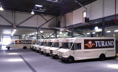 Turano Bakery Trucks