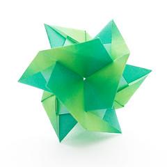 PlainPlate (Maria Sinayskaya) Tags: geometric origami planar modularorigami kawahatafumiaki