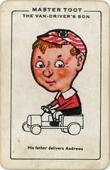 Andrews Liver Salt Happy Families Playing Cards (adambangor) Tags: old vintage advertising 1930s advertisement playingcard newcastleupontyne laxative newcastleontyne happyfamilies andrewsliversalt scottturnerltd