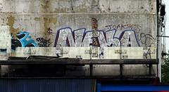 Neka (Alex Ellison) Tags: urban graffiti tag onetime northlondon neka 1time 1t nekah neks