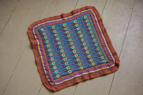 Monkey blanket - back