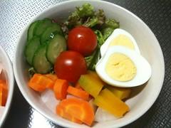 朝食サラダ(2011/7/6)