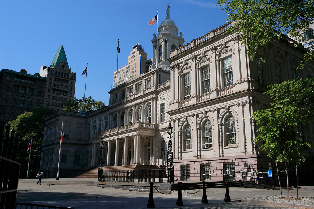 Downtown New York - City Hall