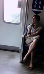 East-West Line (wongyokeseong) Tags: people west apple train photo singapore flickr candid line east transit mrt ew rapid iphone    photofx appleiphone iphone4