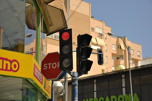 Desde el coche, en Alicante