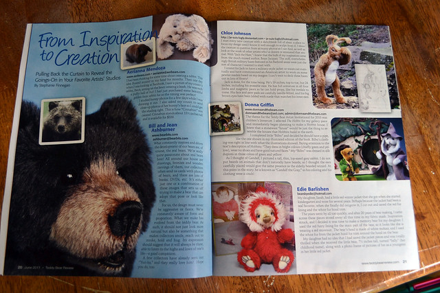 Magazine: Teddy Bear Review