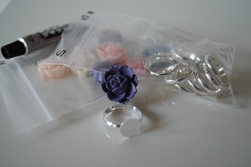 Cabochon Rings DIY Kit