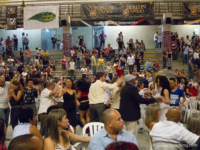 Dance floor in VIP area