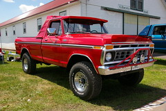 Very Sharp 1977 Ford F-250 Ranger 4X4 Pickup Truck (geepstir) Tags: ford truck offroad 4x4 pennsylvania 4wd pa 1977 monstertrucks bloomsburg f250 truckshow columbiacounty