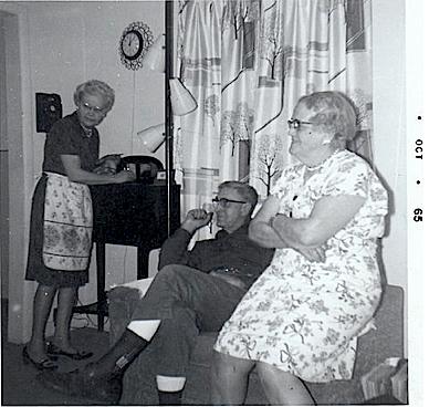 1965 Vintage Apron Scene