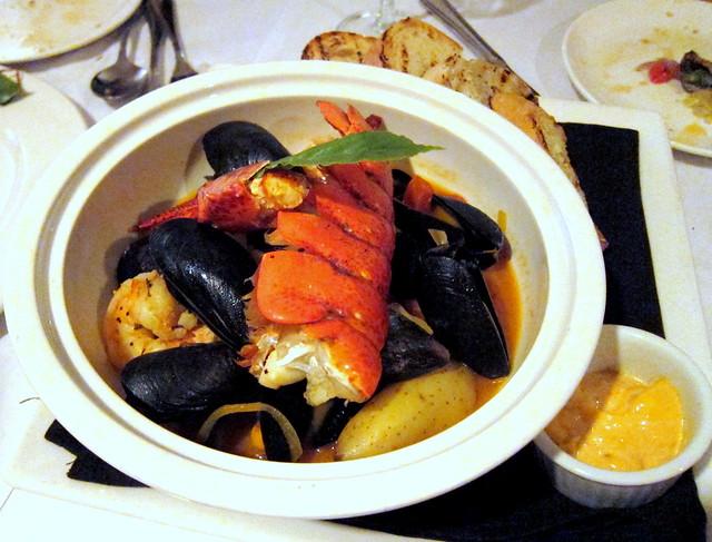 Seafood Bouillablaise