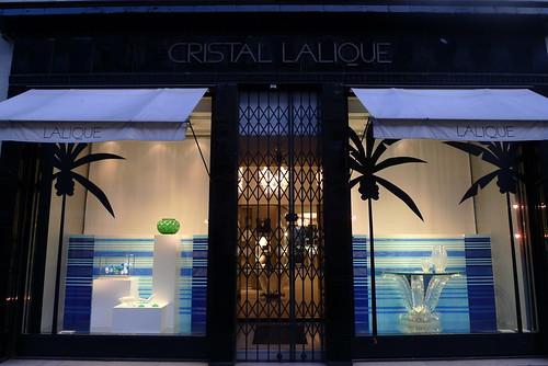 Vitrines Lalique par Stéphanie Moisan - Paris, juillet 2011