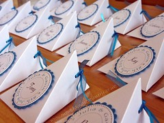 Wedding Favour Boxes / Place Cards (LizzieViolet) Tags: wedding teal stationery placecard weddingdetails weddingideas favour weddingpreparations weddingstationery weddingfavour handmadeweddingstationery handmadestationery favourbox weddingplacecard tealwedding tealweddingtheme tealweddingstationery trianglefavourbox