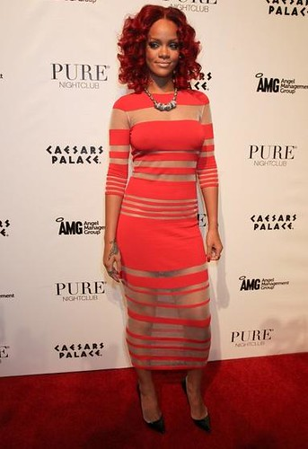 Rihanna is Spicy in Louise Goldin