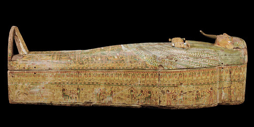 Htp-D'i-Nsw: The Merrin Gallery's Sarcophagus (Right Side)