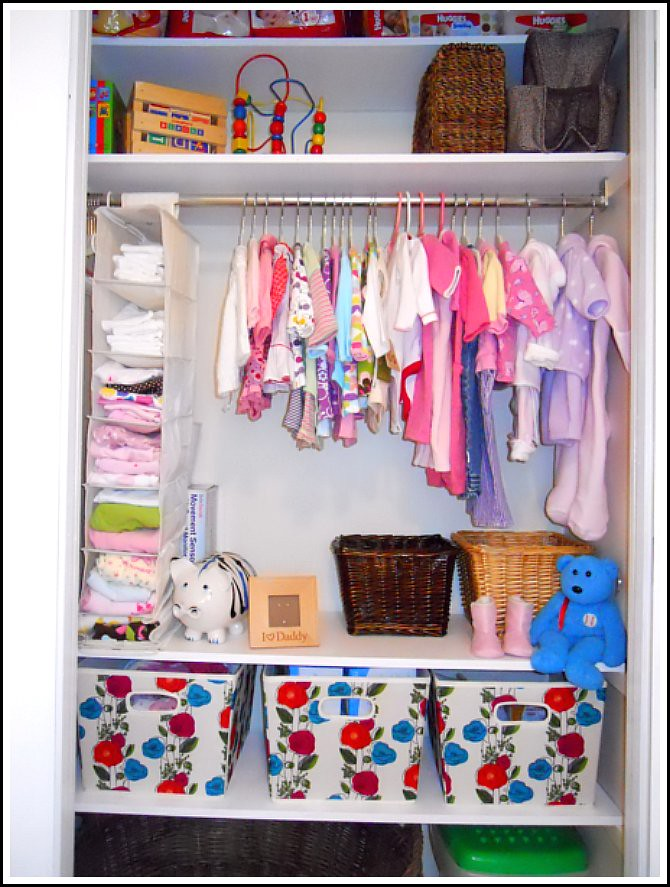 How I Store And Organize All Our Baby Clothes