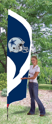Dallas Cowboys Tall Feather Flag
