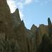 Torres de calcario esculpidas pelo tempo