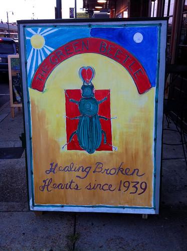 Green Beetle Signage, Memphis, Tenn.