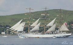 Ships - yachts - sailboats (annie in alba) Tags: greenock ships tall races 2011