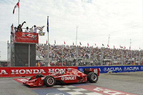 Dario Franchitti - Winner, Honda Indy Toronto 2011!