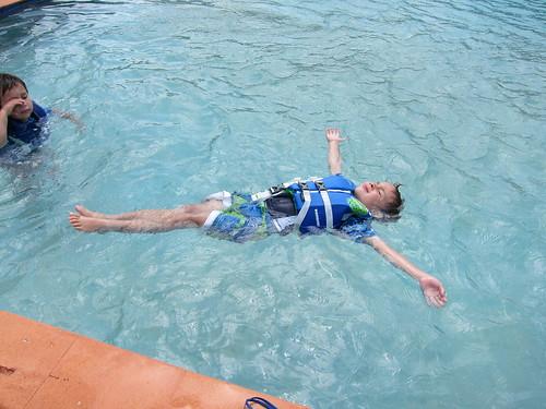 Ezra floats