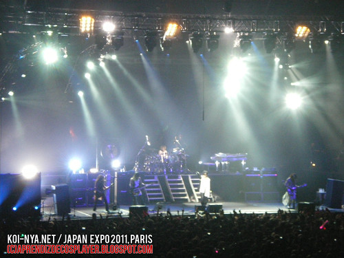 Aprendiz de Cosplayer / Japan Expo 2011 (X JAPAN Live in Paris)