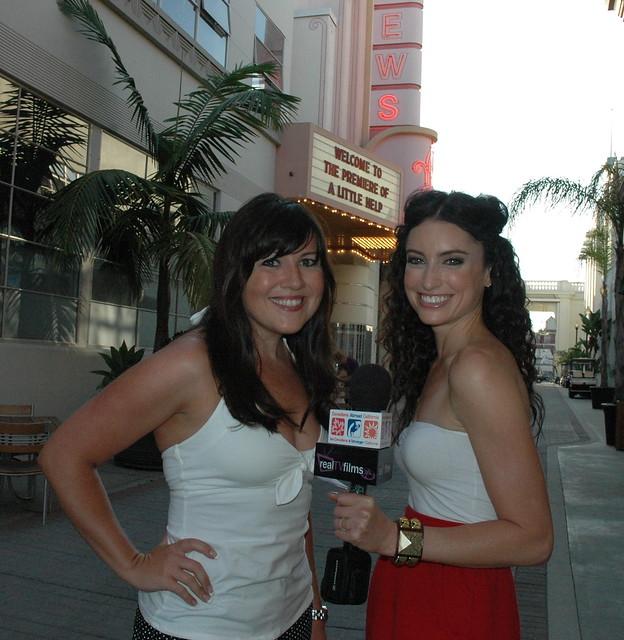 Christy Lee Hughes, Samantha Gutstadt,  A Little Help Premiere, Sony Studios Culver City