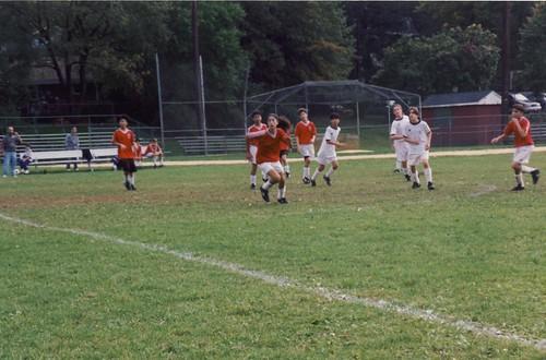 中学生のtownのサッカー試合@NJ州 1994.10.9 by Poran111